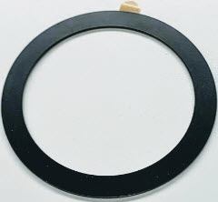 Metal Rings for Wireless Charger (black)