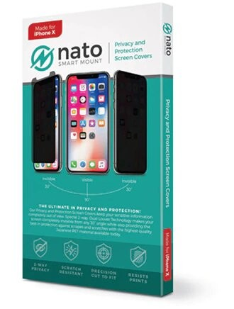 Nato Privacy and Protection Screen Covers - 2 Pack