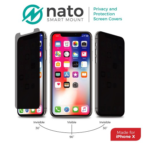 iPhone X Privacy Screen